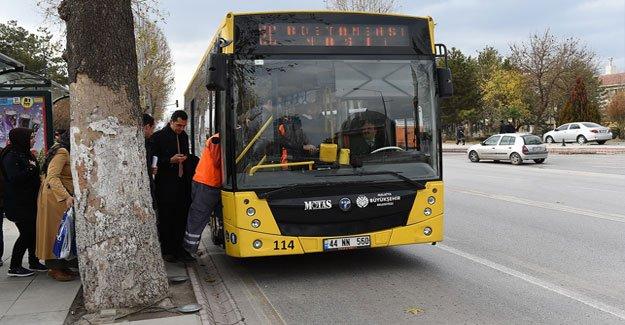 15 Temmuz'da Büyükşehir Belediyesi'ne Ait Otobüsler Ücretsiz