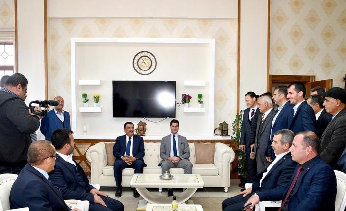 Başkan Gürkan İlçe Ziyaretlerine Devam Ediyor