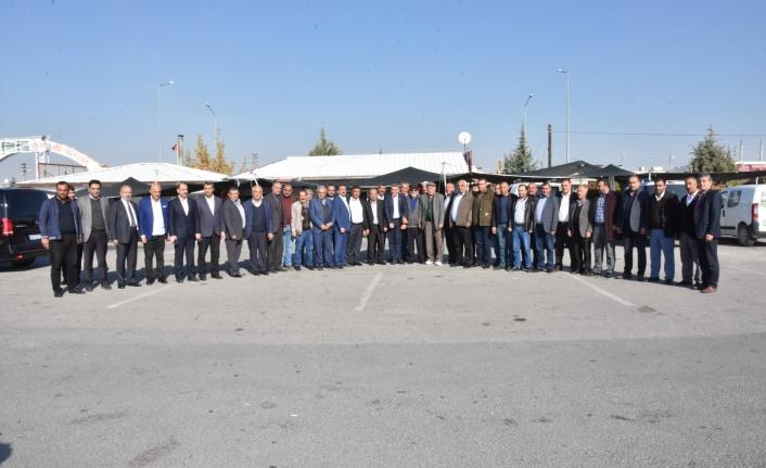 Başkan Sadıkoğlu, Galericilerle Buluştu