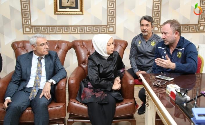 Çalık Ve Güder'den Yeni Malatyaspor'a Fenerbahçe Maçı Öncesi Destek Ziyareti