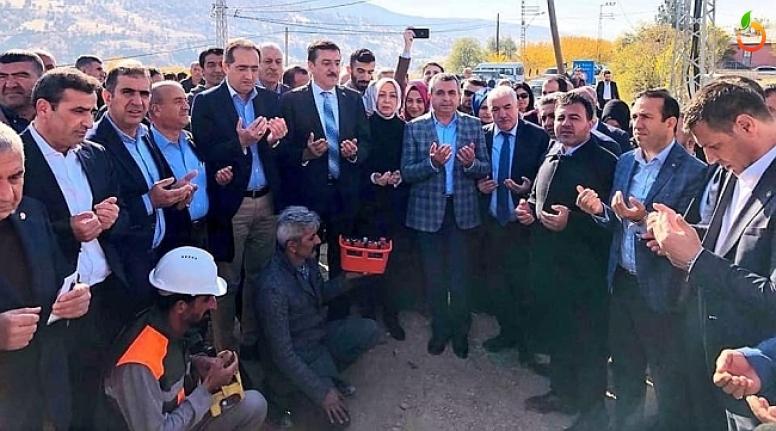 Tüfenkci, Pütürge'de Kültür Evi'nin temel atma törenine katıldı