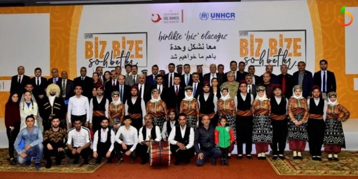 'Uyum Biz Bize Sohbetleri' Malatya'da Yapıldı