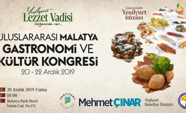 1.Uluslararası Malatya Gastronomi ve Kültür Kongresi 20-22 Aralık'ta