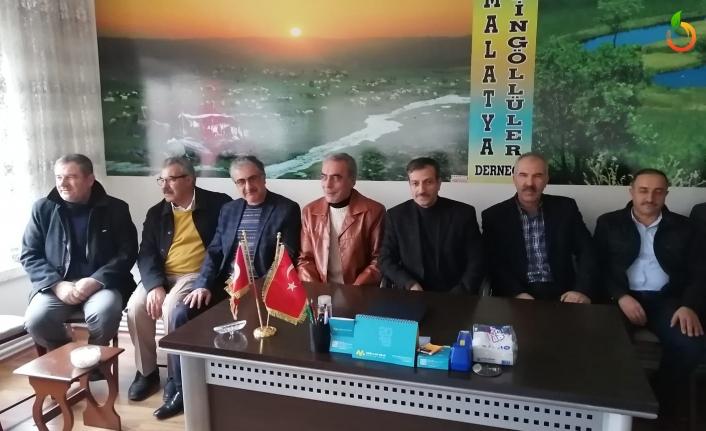 Başkan Zafer Malatya Bingöllüler Derneğini Ziyaret Etti