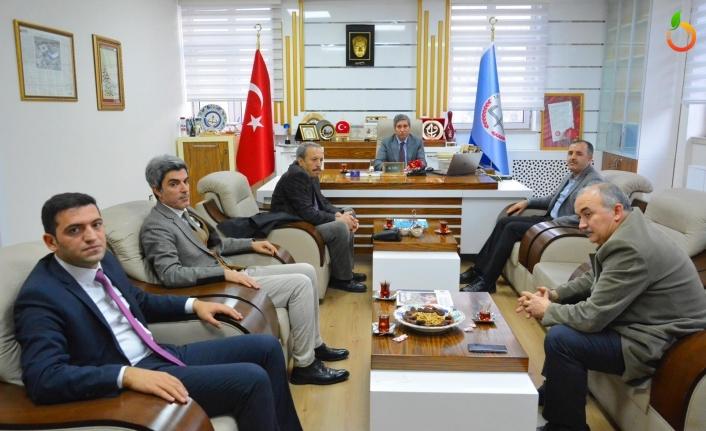 Eğitime Destek Platformu İl Yönetiminden Ali Tatlı'yı Ziyaret Etti