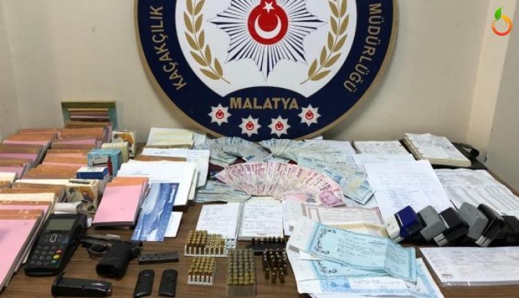 Malatya'da Tefeci Operasyonu