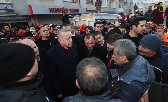 Cumhurbaşkanı Erdoğan, Deprem Bölgelerinde
