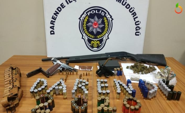 Darende Emniyetinden Es Zamanlı Uyuşturucu ve Silah Operasyonu!