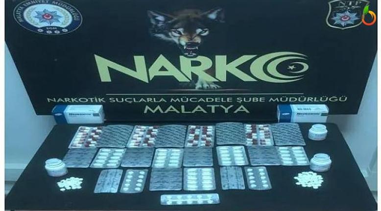Malatya'da Uyuşturucu Operasyonu! 1 gözaltı