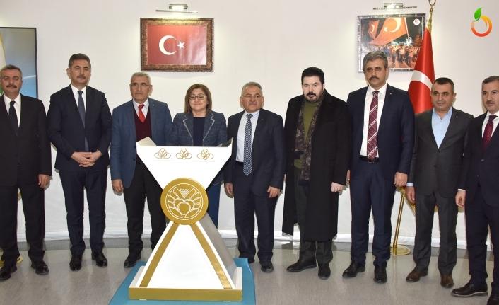 Türkiye Belediyeler Birliği'nden Geçmiş Olsun Ziyareti