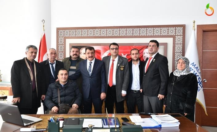 Gazi ve şehit Yakınlarına Başkan Gürkan'dan Destek