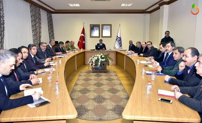 Afet Koordinasyon Toplantısı Düzenlendii
