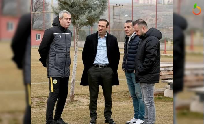 Başkan Gevrek, Ankaragücü Hazırlıklarını Takip Etti