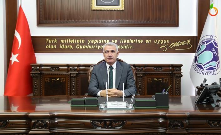 Başkan Güder'in üç aylar ve regaip kandil mesajı
