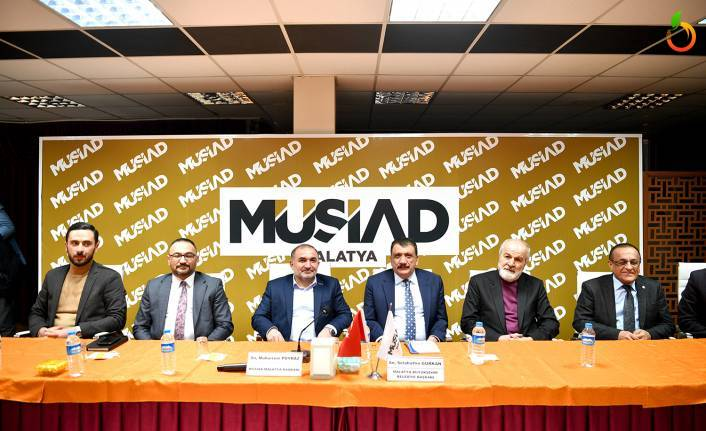 Başkan Gürkan, MÜSİAD'ın 'Dost Meclisi'ne konuk oldu