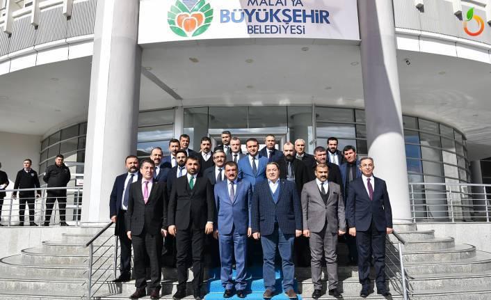 Başkan Samanlı ve Yönetiminden Gürkan'a Ziyaret