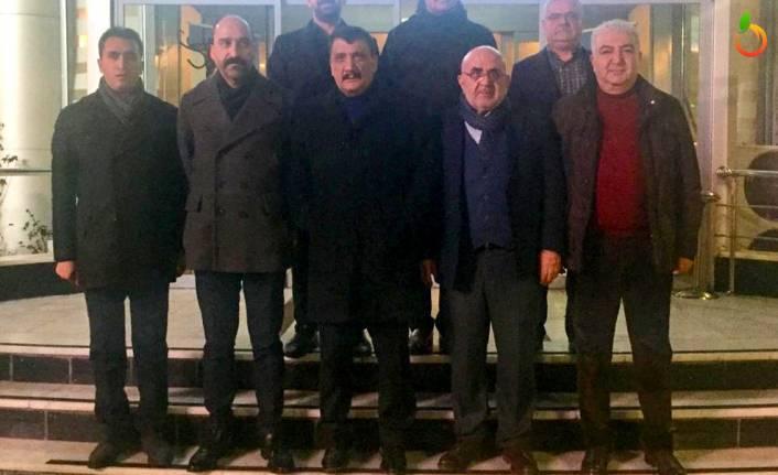 İş Adamları Başkan Gürkan'ı Ziyaret Etti
