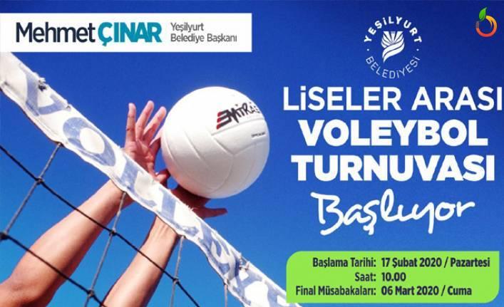 Liselerarası Voleybol Turnuvası 17 Şubat'ta Başlıyor
