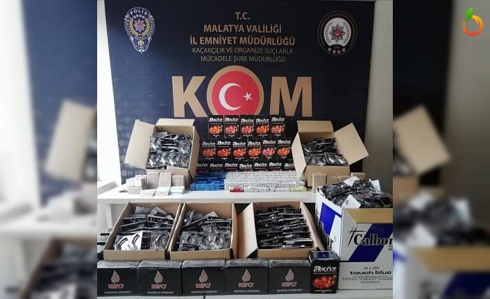 Malatya'da Kaçakçılık Operasyonu!