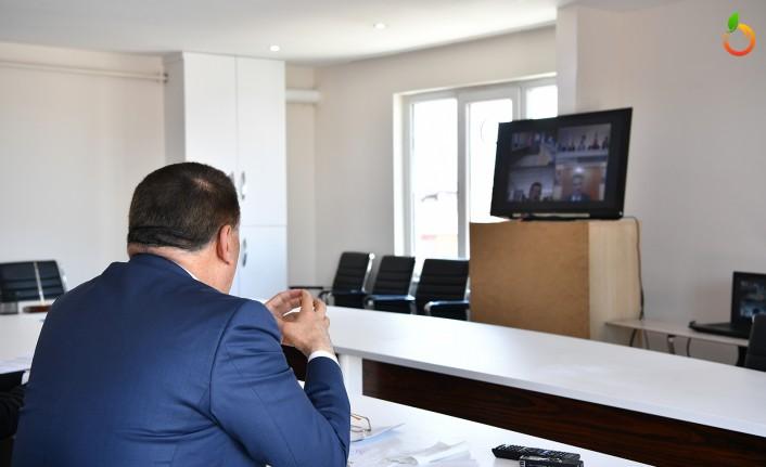 Başkan Gürkan Video Konferansla Bakan Karaismailoğlu ile görüştü