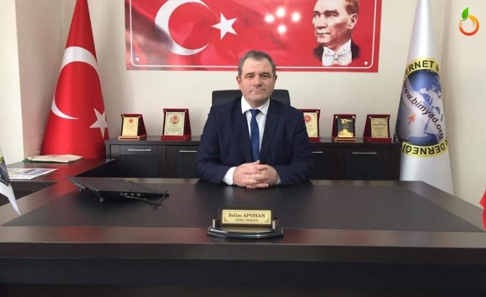 BİMYAD Başkanı Apohan'dan 'Evinde kal haber olma' uyarısı