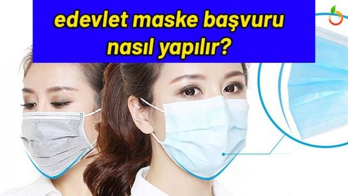 E-Devlet Ücretsiz maske nasıl alınır? Ücretsiz Maske İsteme Ekranı
