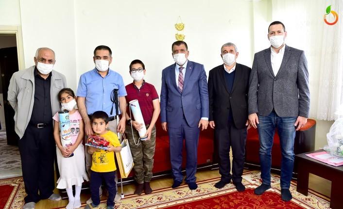Başkan Gürkan'dan Anlamlı Ziyaret