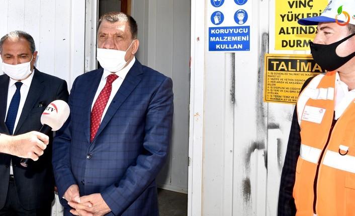 Başkan Gürkan, Kuyuönü HES Projesini İncelesi