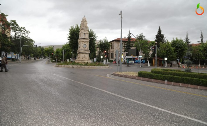 Bayramın İlk Günü Malatya'da Cadde Sokaklar Boş Kaldı