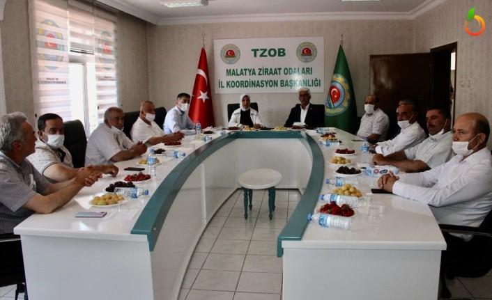 Çalık, Malatya Ziraat Odaları Koordinasyon Toplantısı'na katıldı