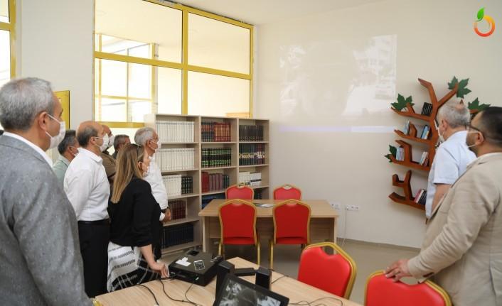 Cemil Taşçıoğlu Anısına Battalgazi Belediyesi'nden Kütüphane