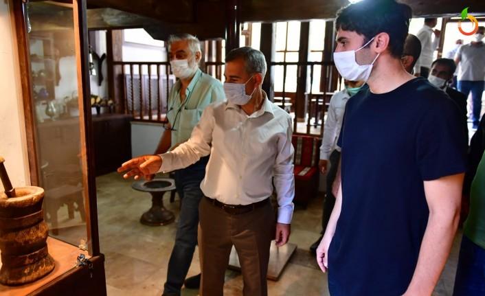'Koku' Filmi Ekibi Yeşilyurt'un turistik ve tarihi mekânlarını gezdi
