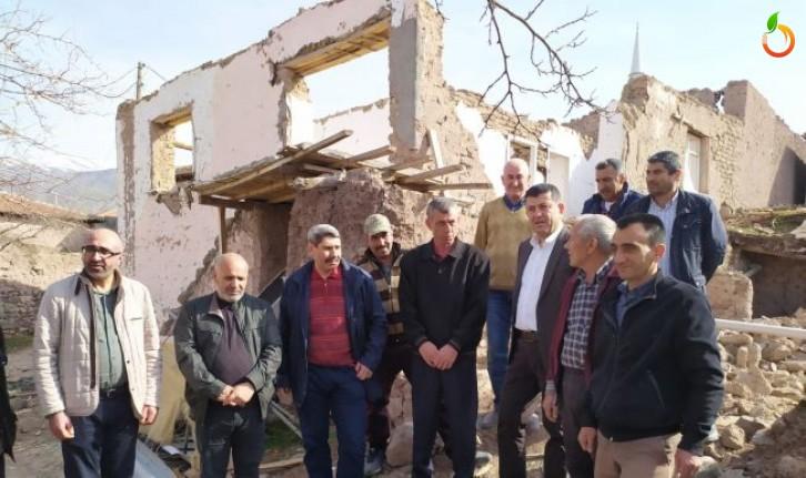 Ağbaba, depremzedelere yapılan bağışlara el konulduğunu iddia etti