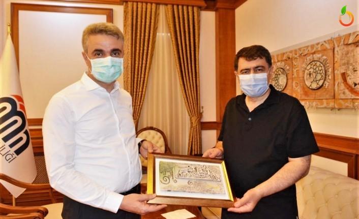 Ankara Valisi Vasip Şahin, Vali Aydın Baruş'u Ziyaret Etti