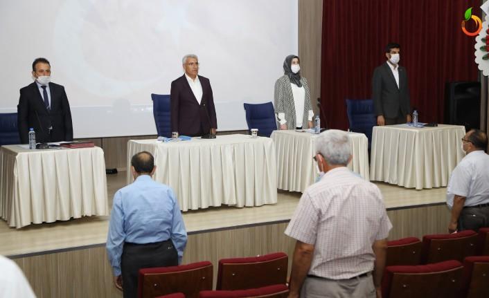 Başkan Güder, meclis üyelerine dönüşüm hakkında bilgi verdi