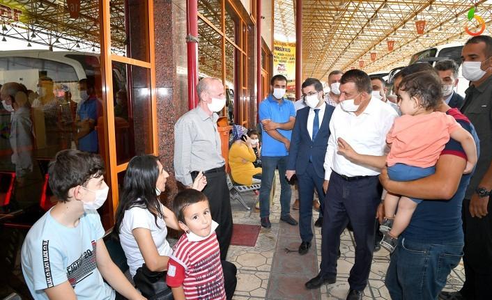 Başkan Gürkan MAŞTİ esnafıyla bir araya geldi