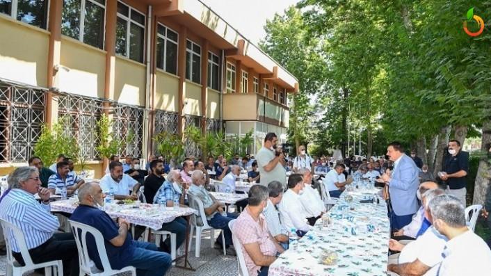 Başkan Gürkan, Özhan Sanayi Sitesi esnaflarıyla buluştu