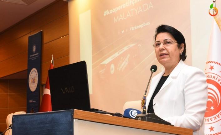 Hafize Gürkan: 'Hedefimiz her ilçede bir kooperatif kurmak'