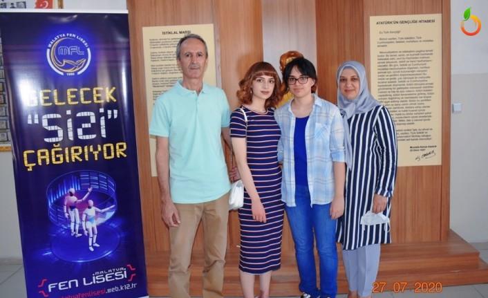 Malatya Fen Lisesinin Geleneksel Başarısı Devam Ediyor