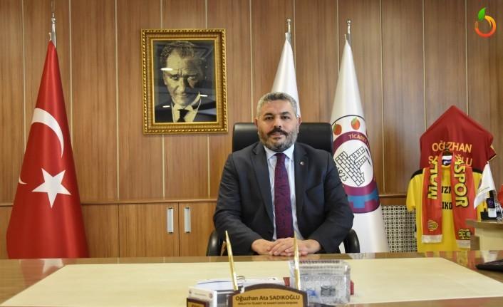 Sadıkoğlu'dan Kayısı Alımı İçin Cumhurbaskanı Erdoğan'a Teşekkür