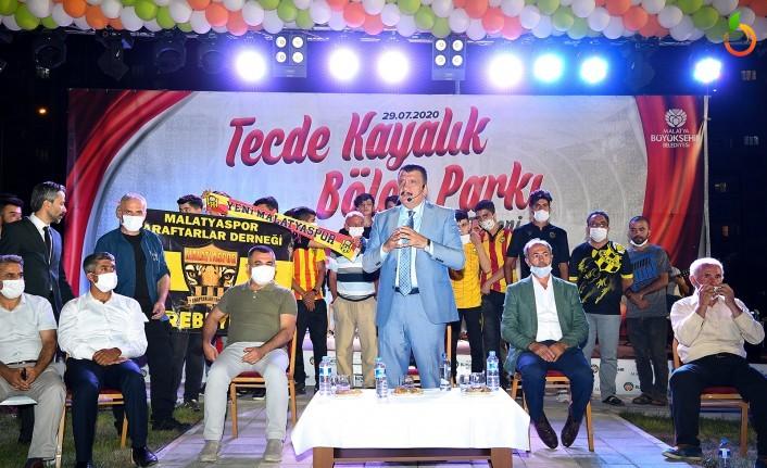 Tecde Bölge Parkı Malatya'ya Hayırlı Olsun