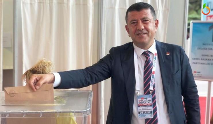 Veli Ağbaba parti meclisi üyeliğine tekrar seçildi