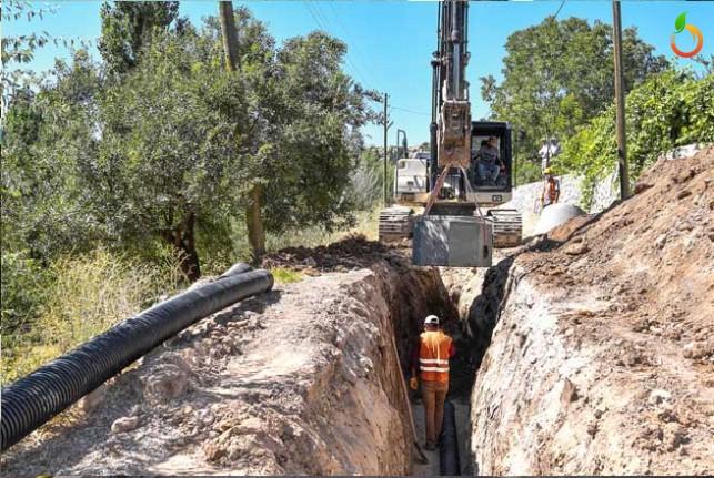 Akçadağ Dedeköy'de Kanalizasyon Sorunu Çözülüyor