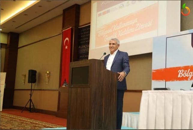 Başkan Güder, 81 İlden Malatya'ya Gelen Gençlerle Buluştu
