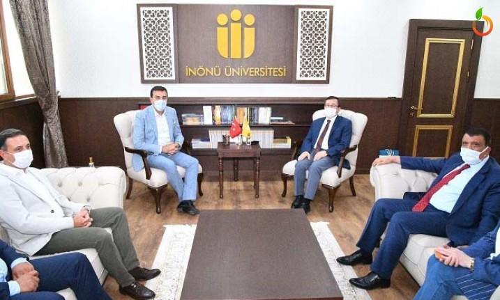 Başkan Gürkan'dan  Kızılay'a hayırlı olsun ziyareti