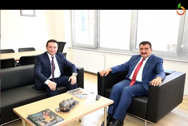 Başkan Gürkan'dan Kurum ve Kuruluşlara Ziyaret