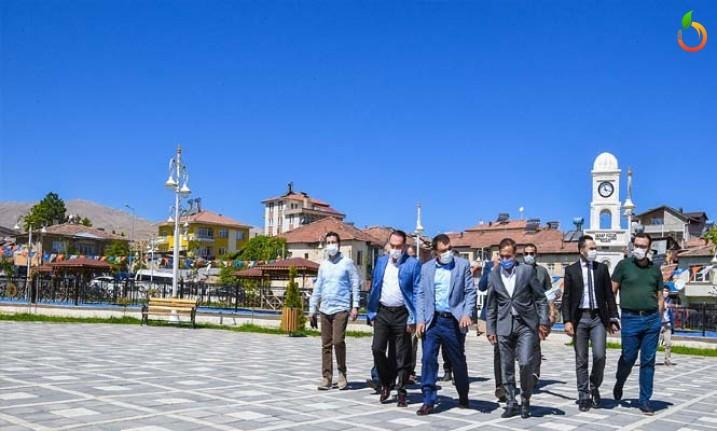 Başkan Gürkan, Doğanşehir'de İncelemelerde Bulundu