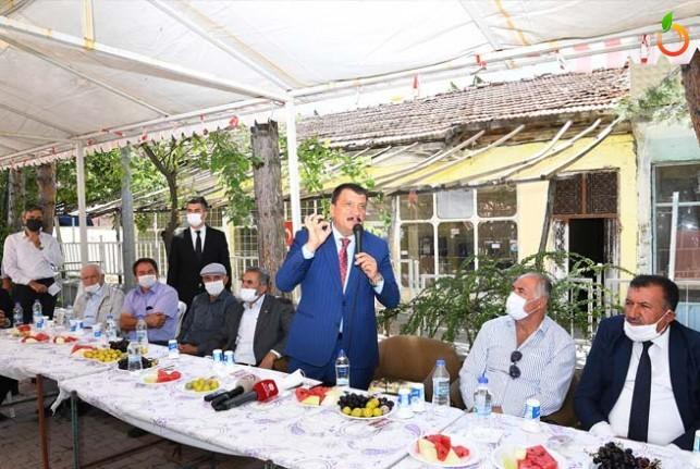 Başkan Gürkan, Hekimhan'da incelemelerde bulundu