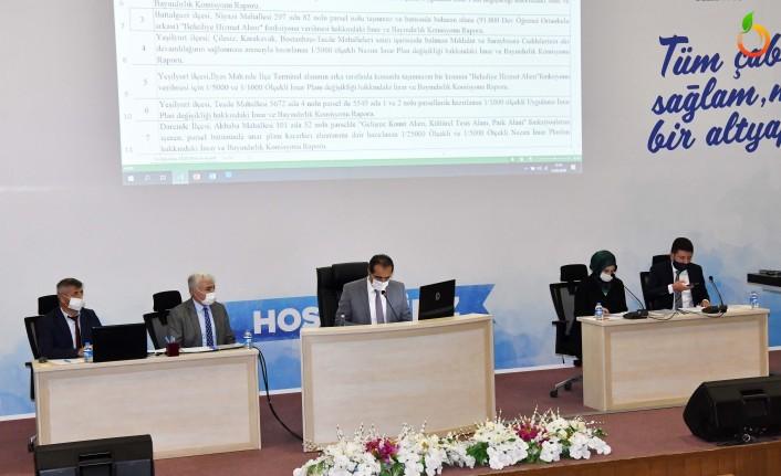 Büyükşehir Belediye Meclisi Ağustos Ayı Toplantısı Sona Erdi