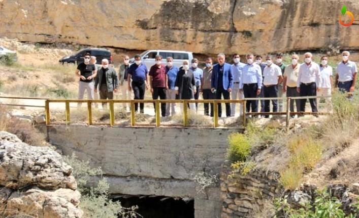 Çalık: 'Ansur Göletiyle Yazıhan'da 18 bin dekar arazi suyla buluşacak'